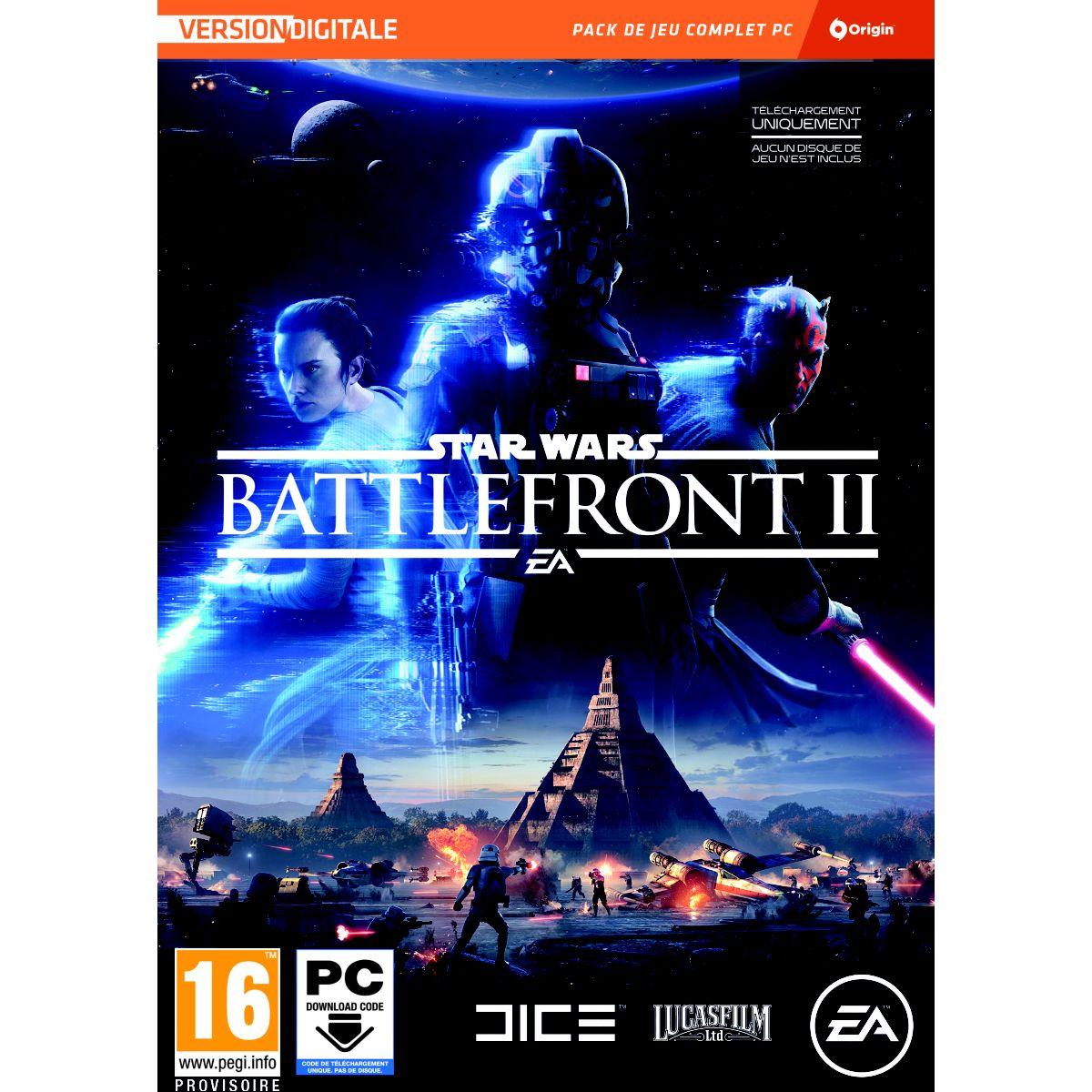 Jeu PC ELECTRONIC ARTS Star Wars Battlefront II (photo)