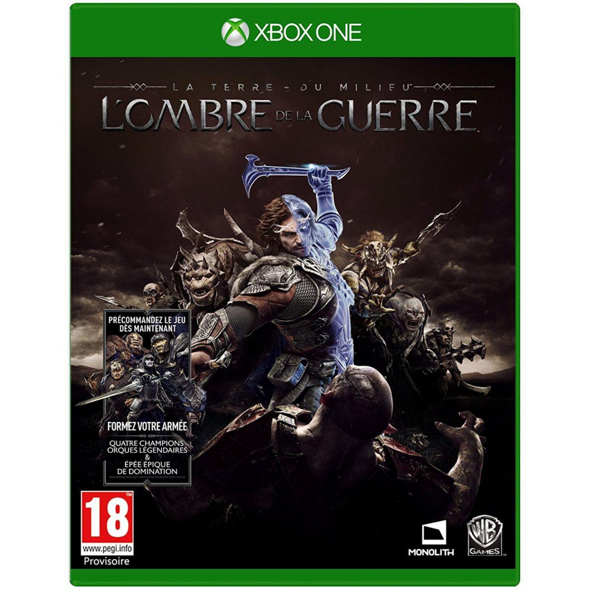 Jeu Xbox One WARNER La Terre du Milieu L'Ombre de la Guerre