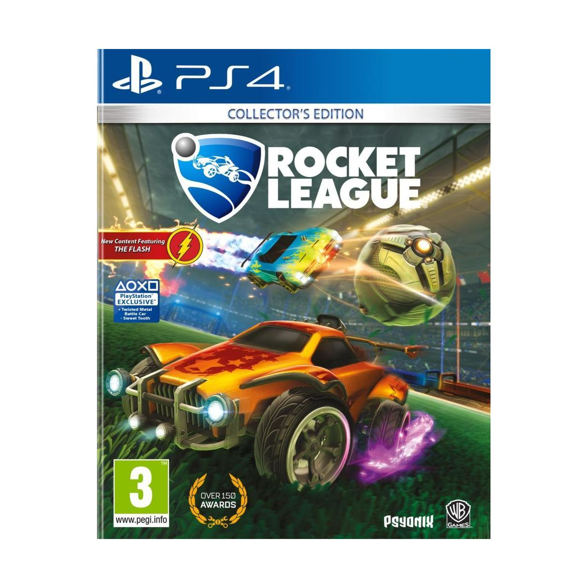 Jeu PS4 WARNER Rocket League Collector's Edition