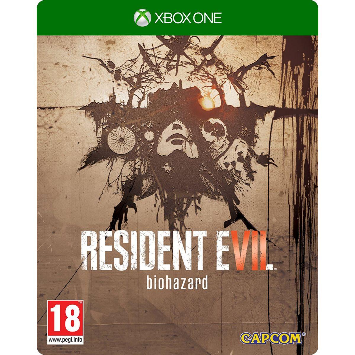 Jeu Xbox One CAPCOM Resident Evil 7 Biohazard Ed. Steelbook