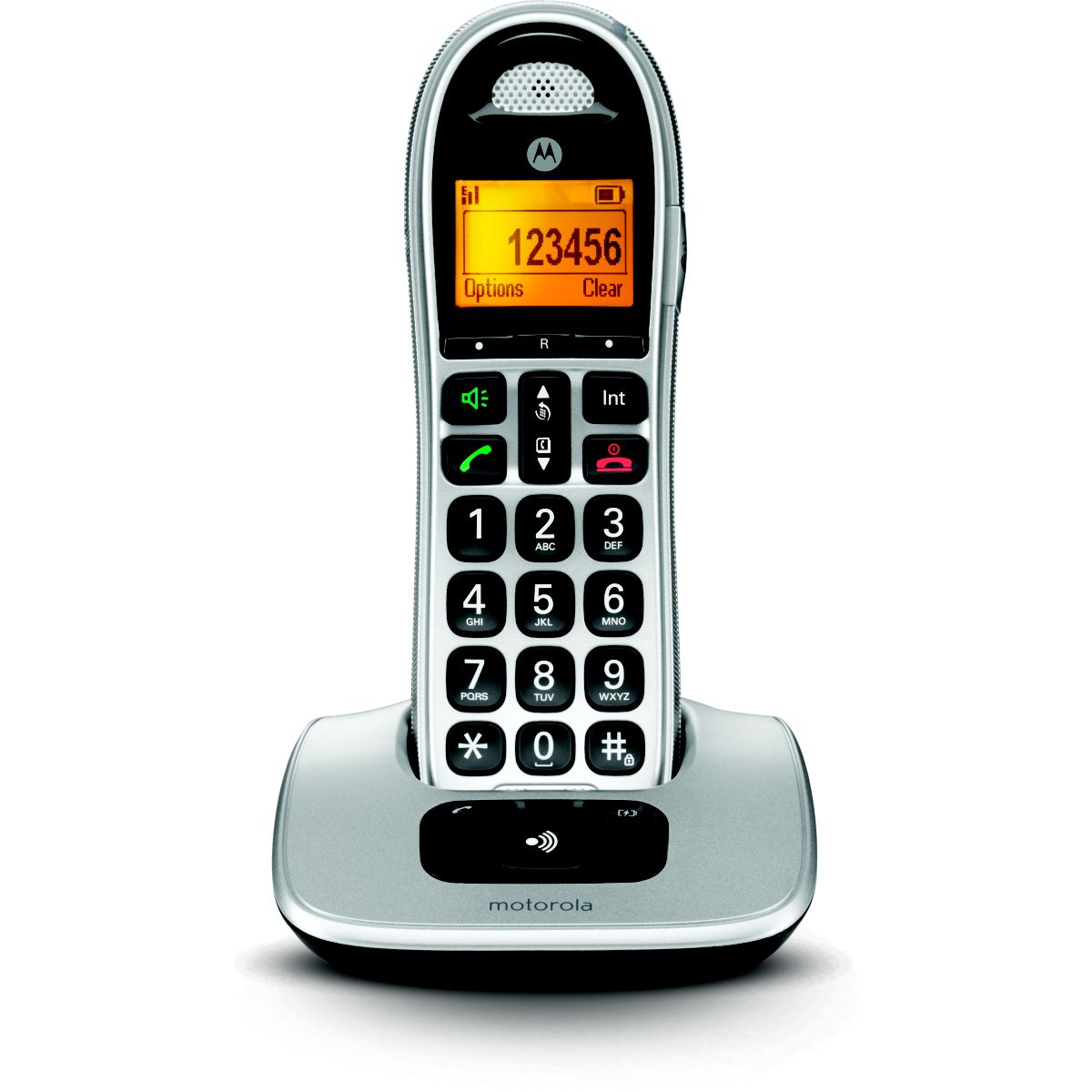 Téléphone sans fil MOTOROLA Motorola CD301 silver