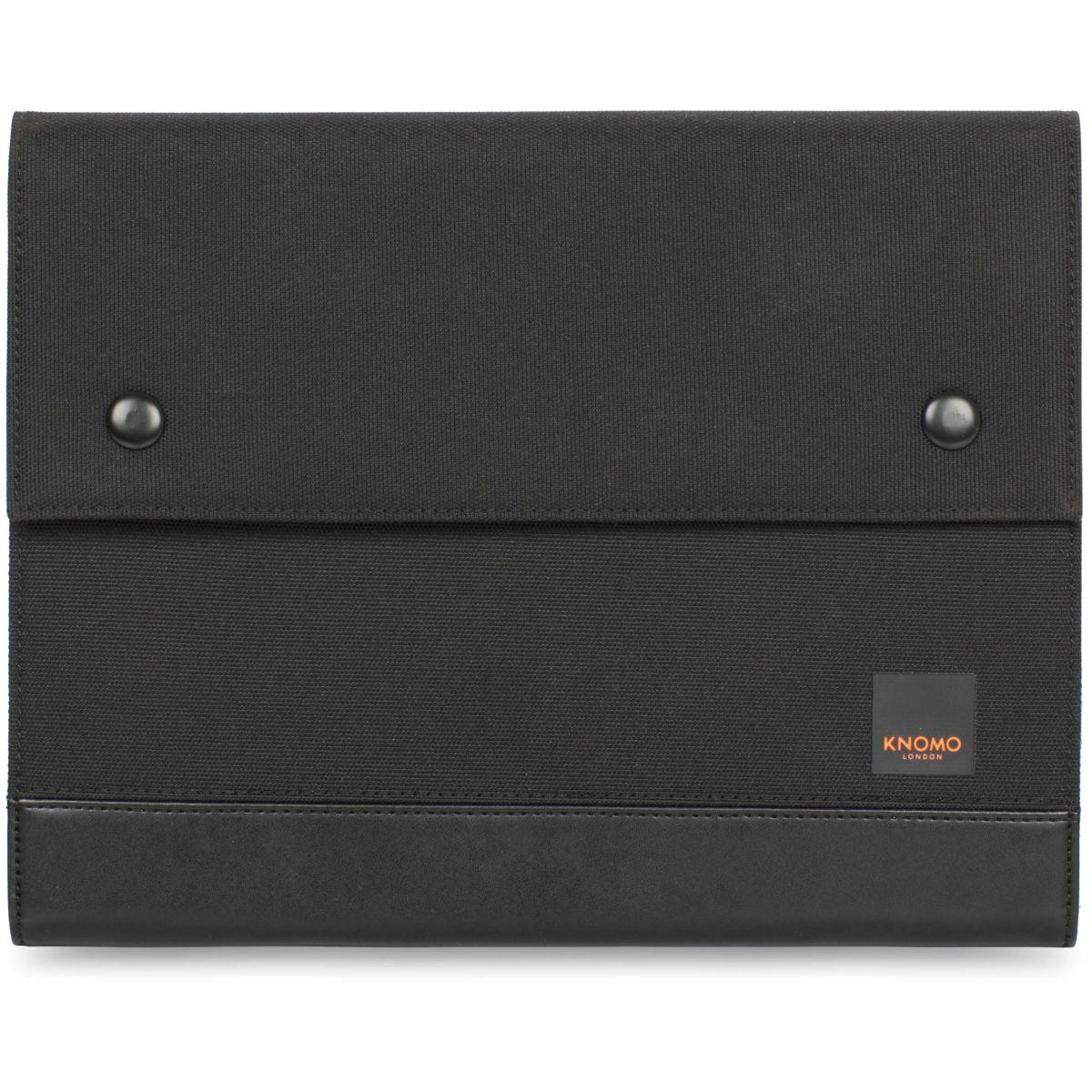 Folio KNOMO organizer 10'' tissu noir