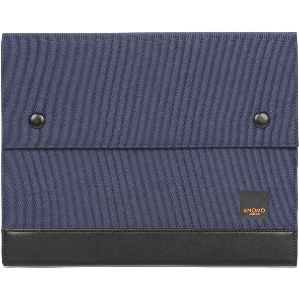 Folio KNOMO organizer 10' tissu bleu