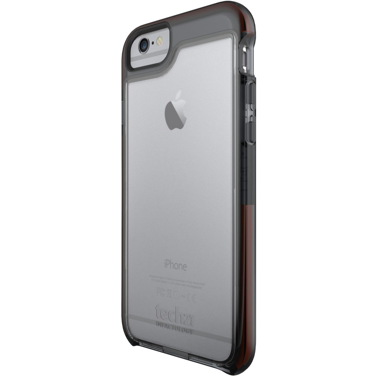 Coque TECH 21 iPhone 6/6s smokey anti-choc