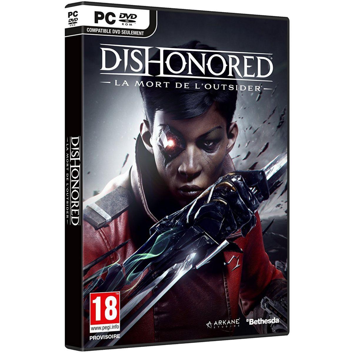 Jeu PC BETHESDA Dishonored 2 La Mort de l'Outsider (photo)