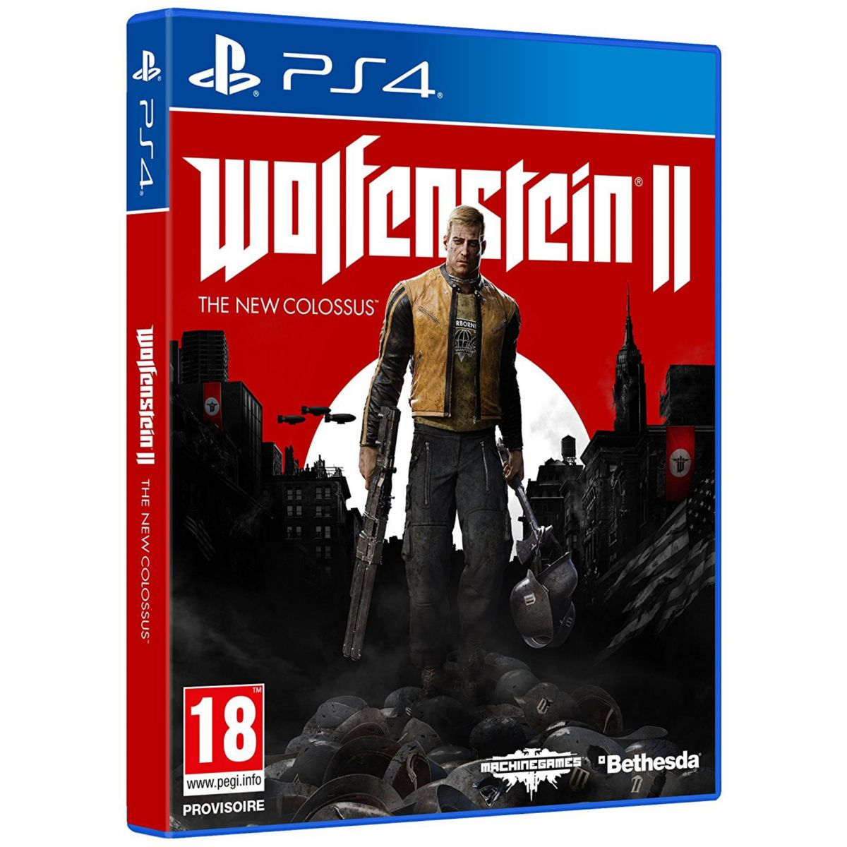 Jeu PS4 BETHESDA Wolfenstein 2 The New Colossus (photo)
