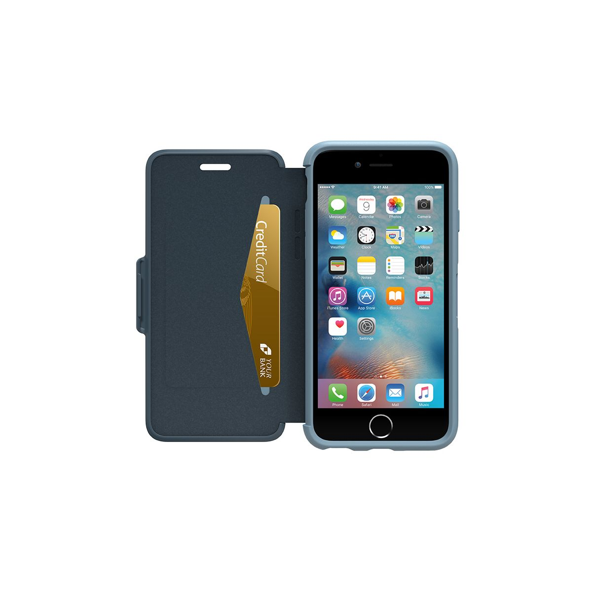 Etui OTTERBOX Symmetry iPhone 6/6S bleu