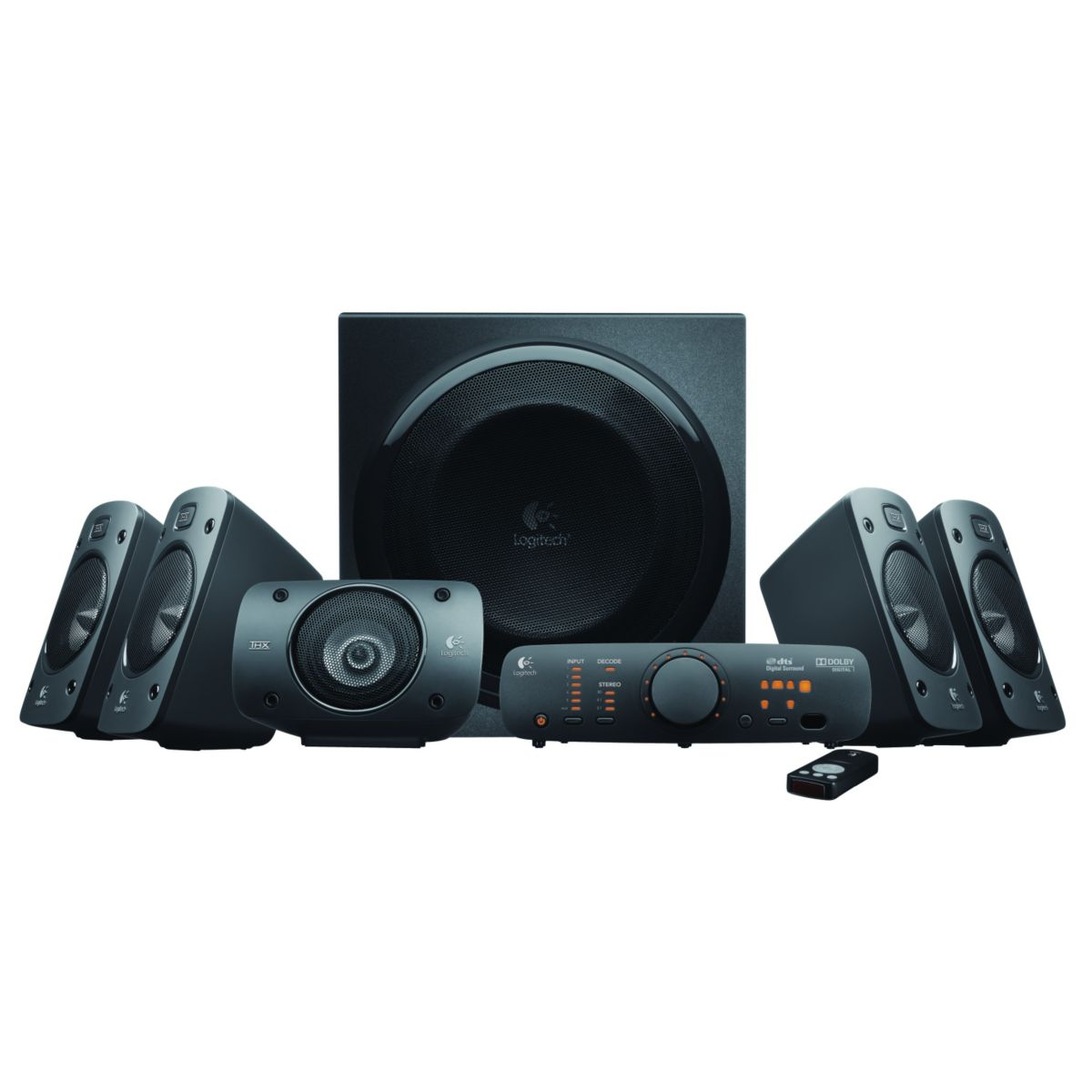 Enceintes 5.1 LOGITECH Z906 THX Surround