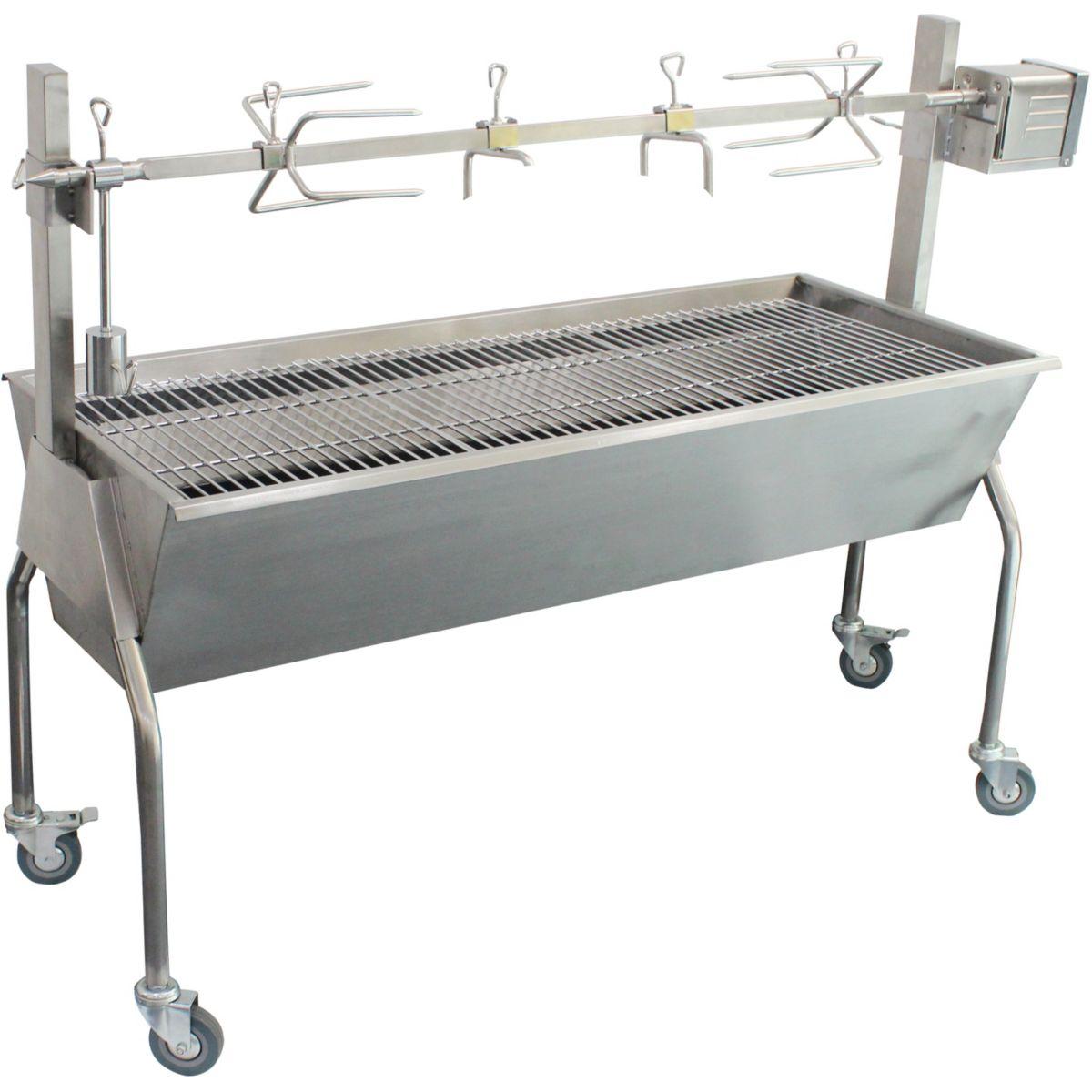 Barbecue charbon KALORIK TKG GRB 1001 rotissoire électrique