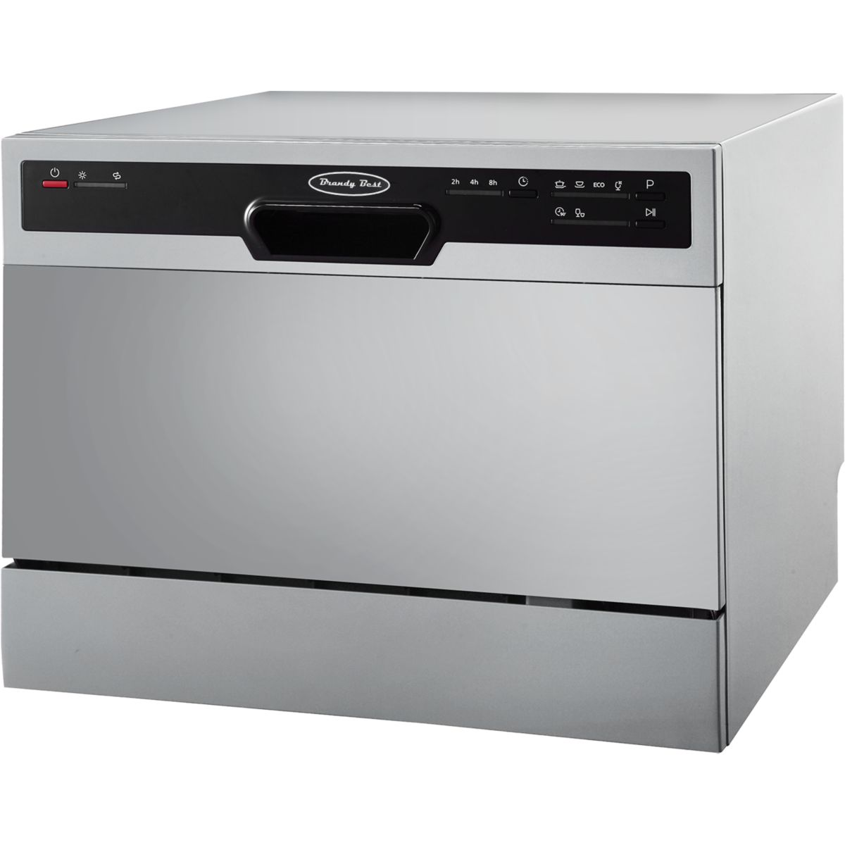 Mini lave vaisselle BRANDY BEST FLASH6S (Silver)