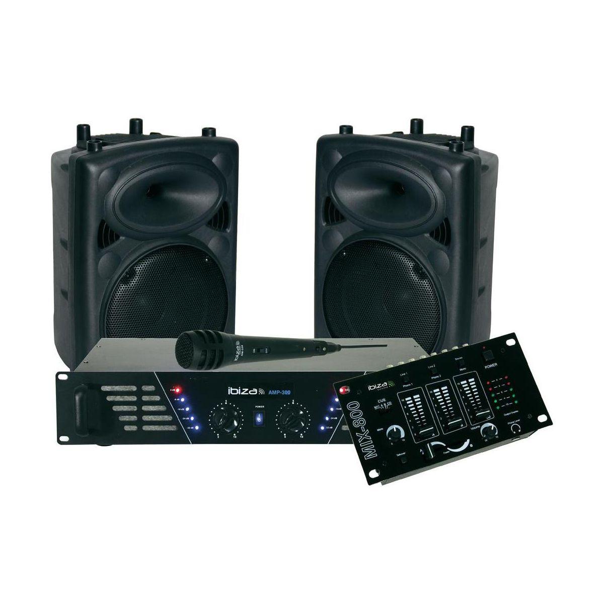 Pack IBIZ DJ300 MKII (photo)