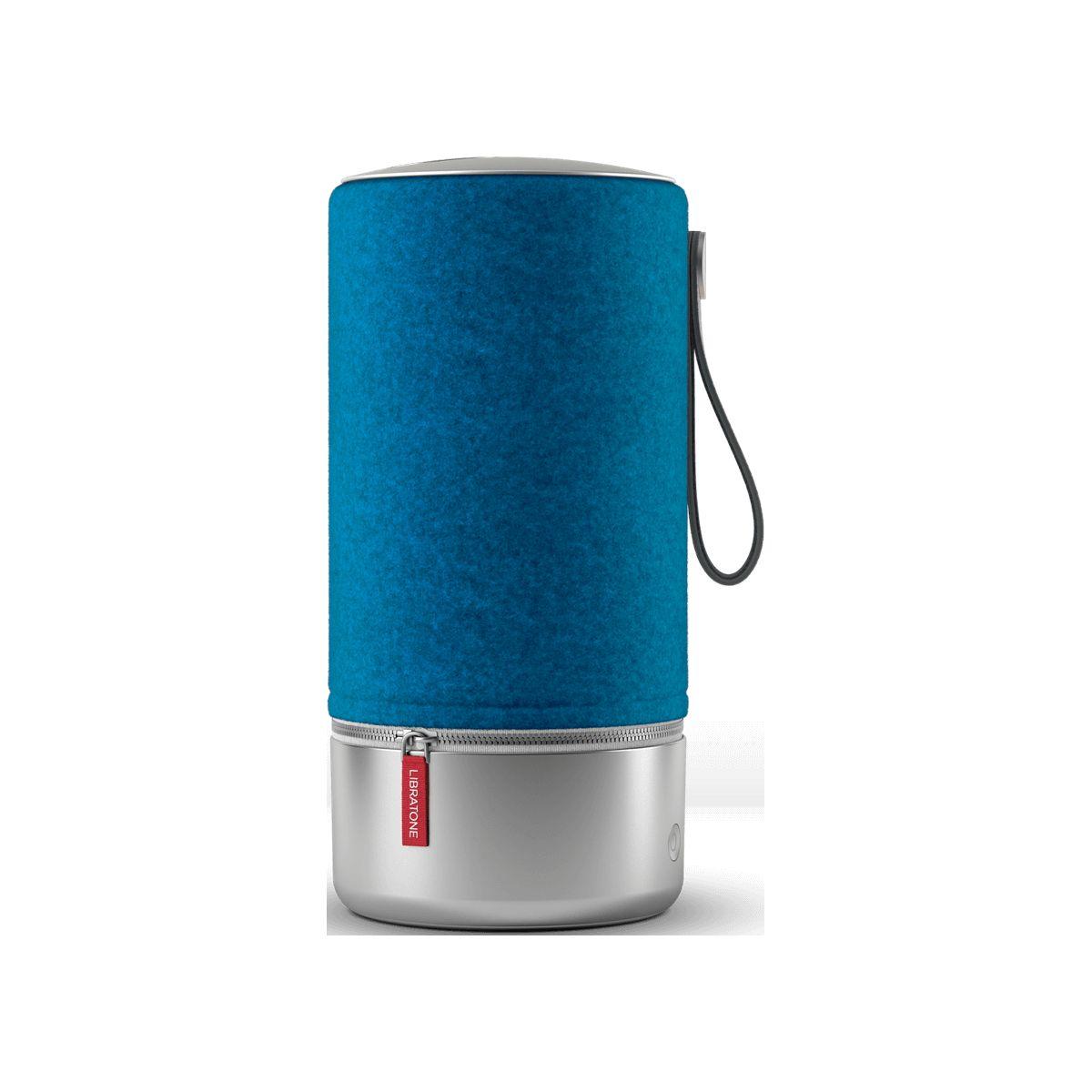 Enceinte Bluetooth LIBRATONE Zipp Copenhagen Bleu et Aluminium