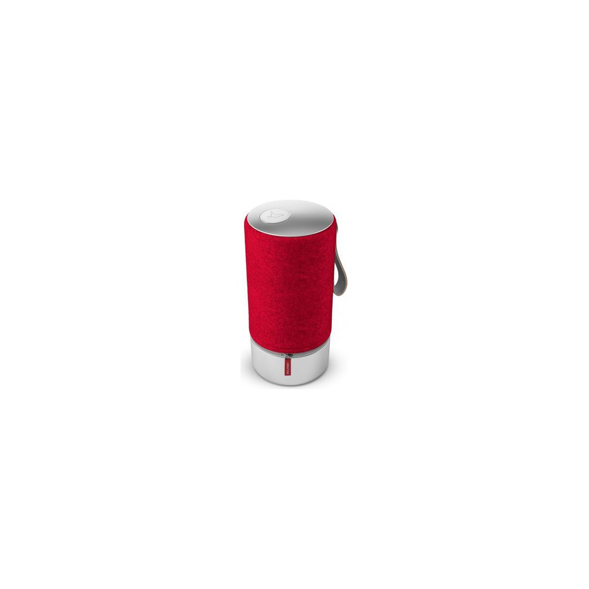 Enceinte Bluetooth LIBRATONE Zipp Copenhagen Rouge et Aluminiu...
