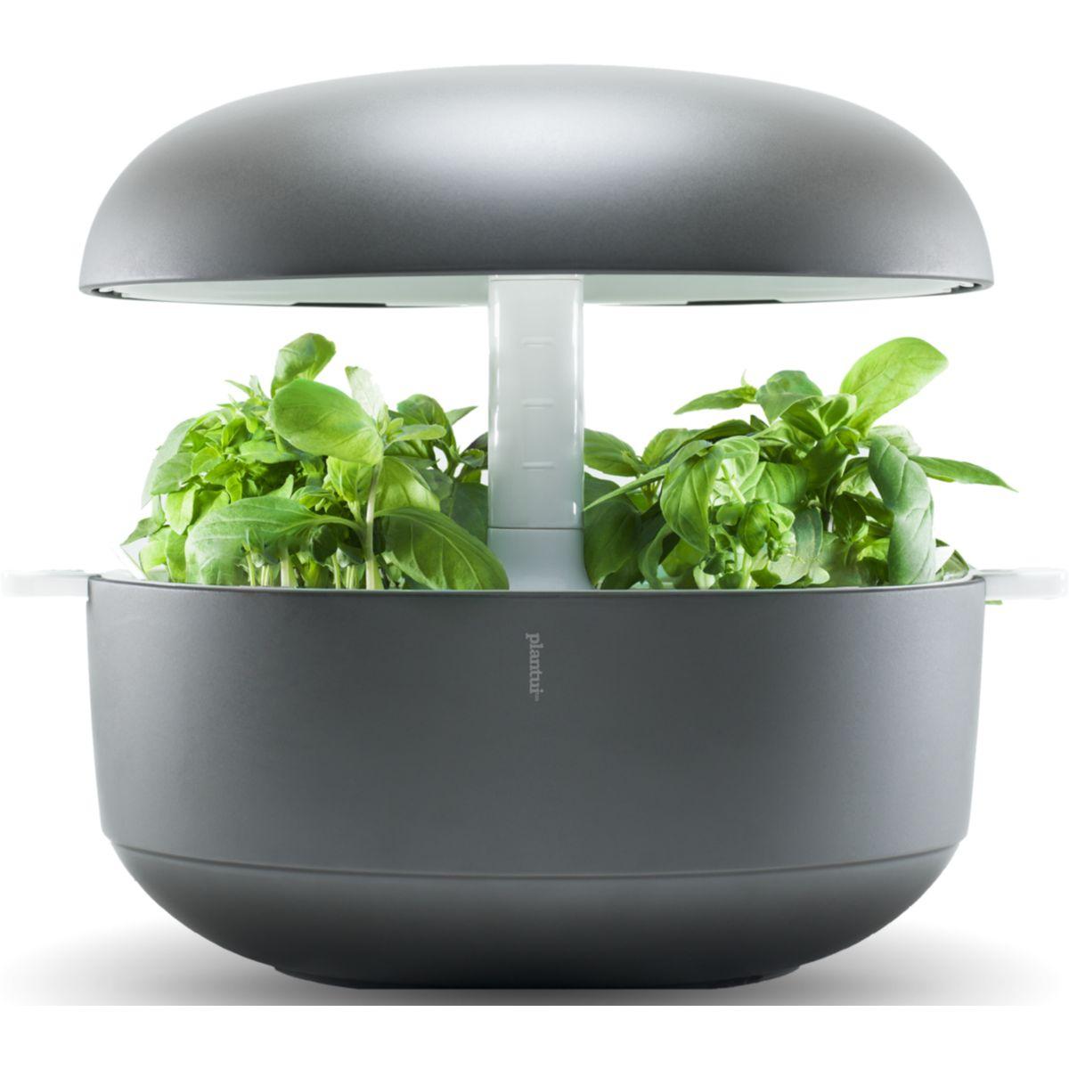 Jardin d'intérieur PLANTUI 6 Smart Garden Gris