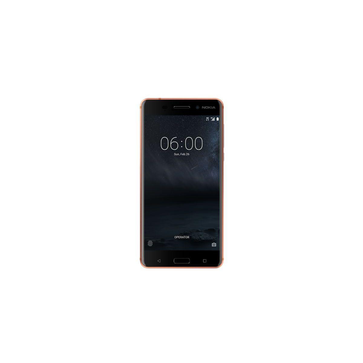 Smartphone NOKIA 6 Cuivre