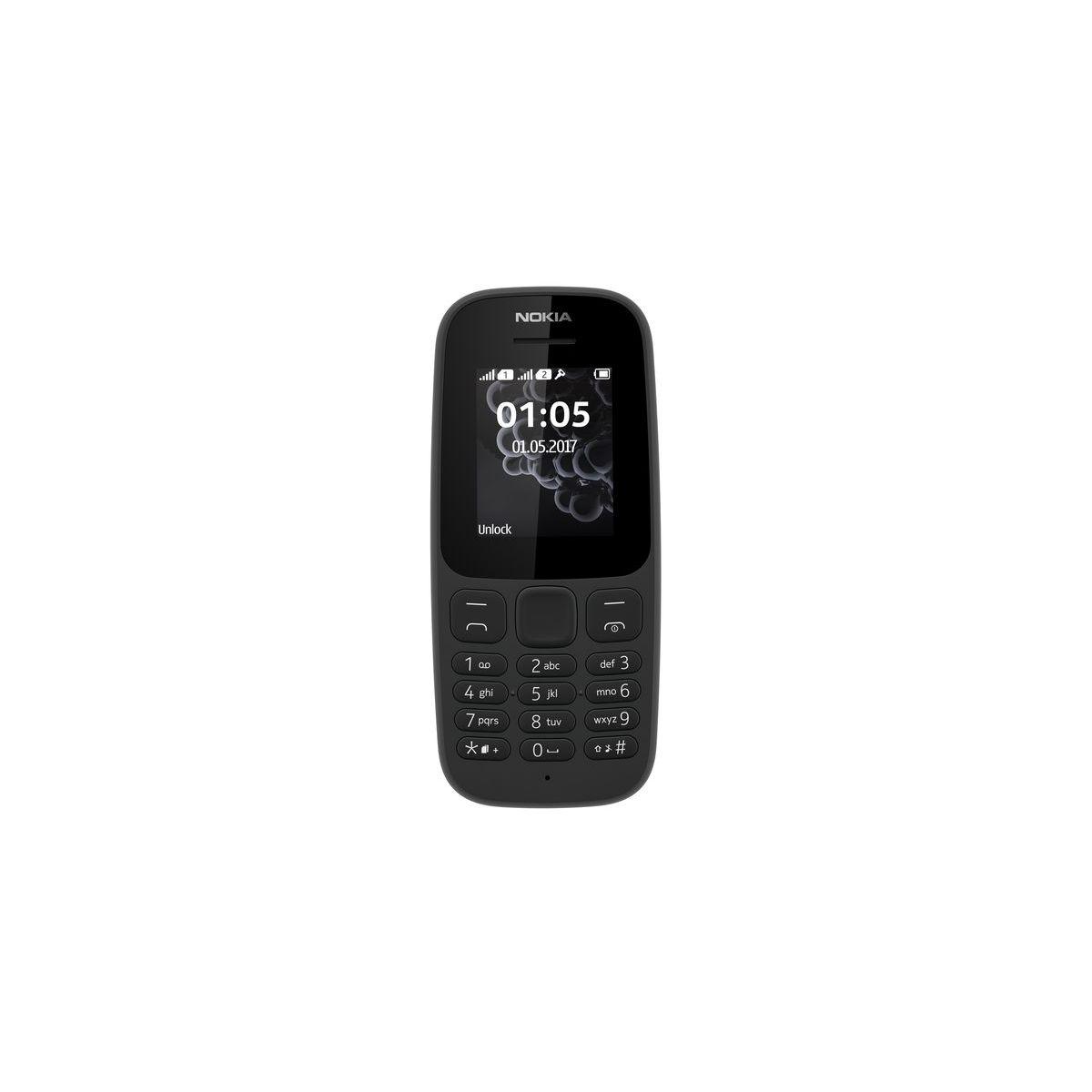 Mobile NOKIA 105 Noir DS
