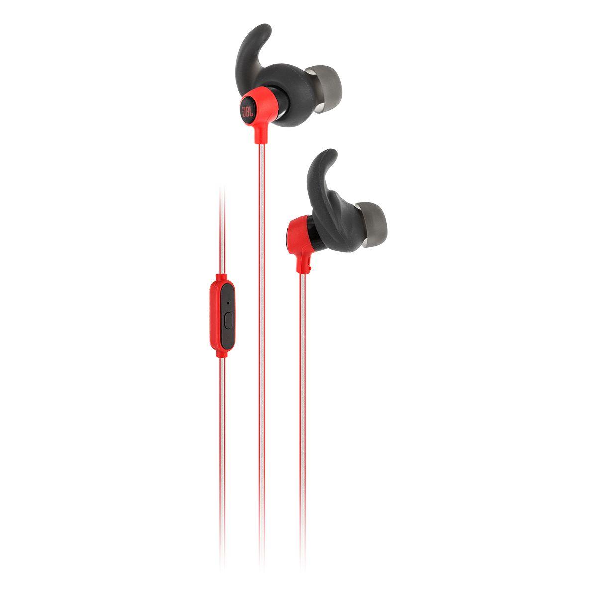 Ecouteurs sport JBL Reflect mini rouge