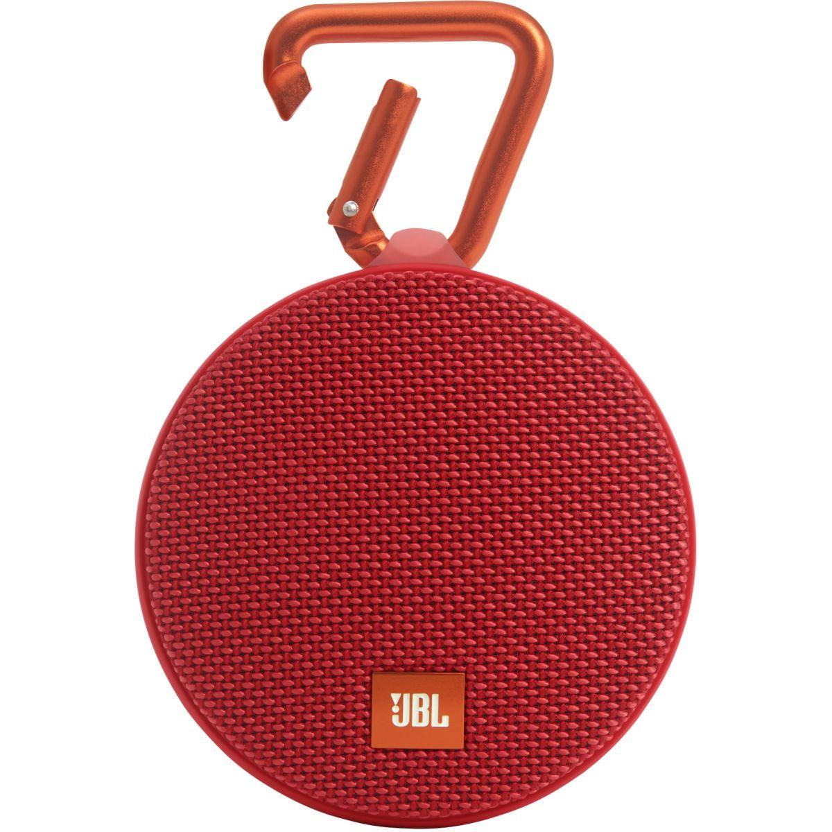 Enceinte Bluetooth JBL Clip 2 rouge