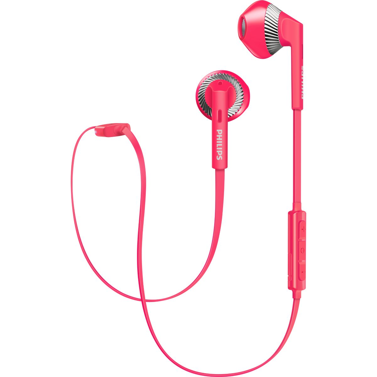 Ecouteurs PHILIPS SHB5250 rose
