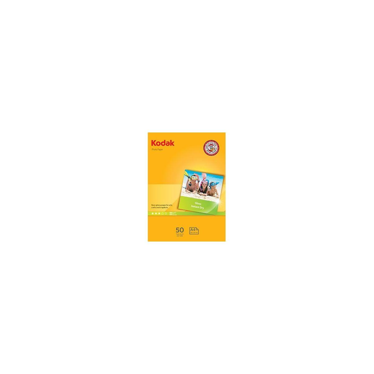 Papier photo KODAK Photo Gloss Ultra Premium 180g A4 50f