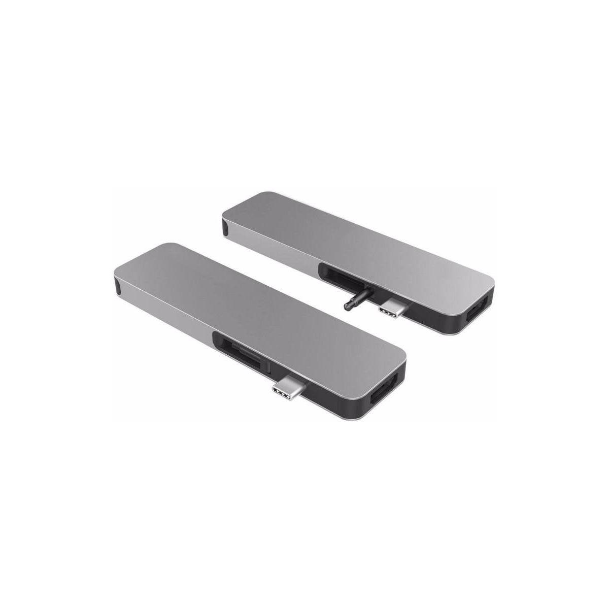 Hub HYPER Drive Solo Hub 7 en 1 MacBook Gris