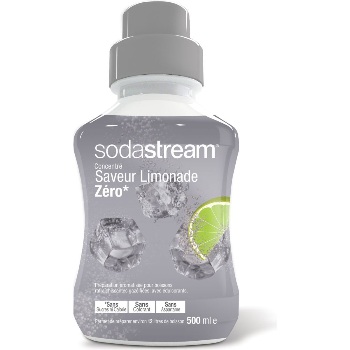 Concentré SODASTREAM Limonade Zéro 500ml