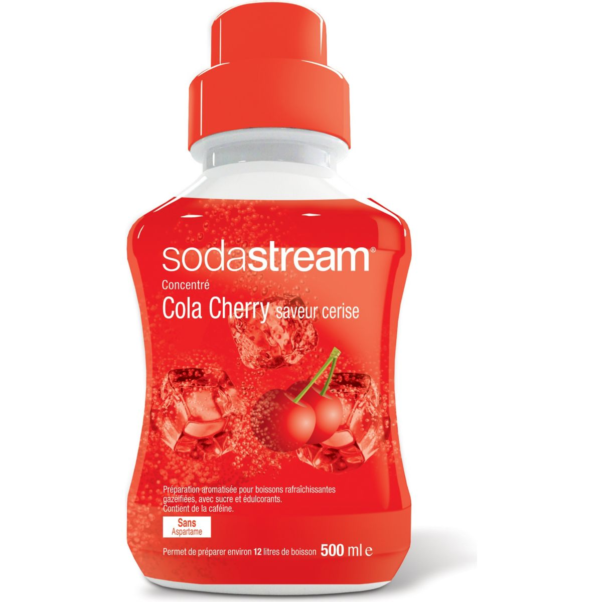 Concentré SODASTREAM COLA CHERRY 500ML