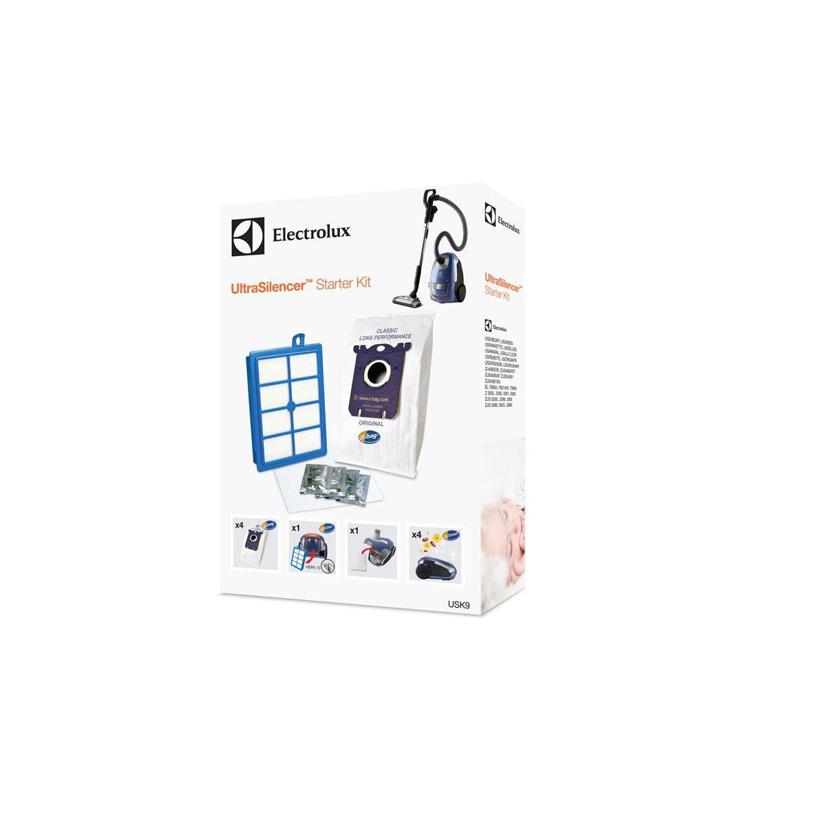 Sac aspirateur ELECTROLUX USK9 Starter Kit pour Ultrasilencer