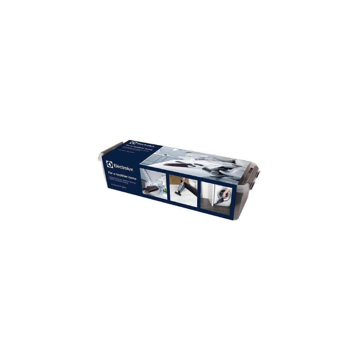 Kit de nettoyage ELECTROLUX Kit 15 brosse +suceur+ adapt rapido