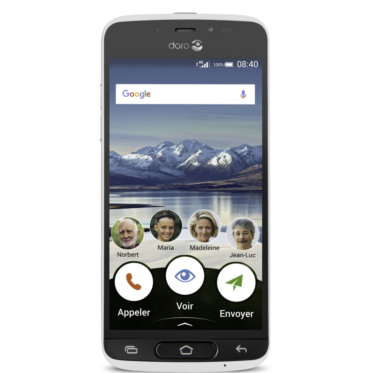 Smartphone DORO 8040 White