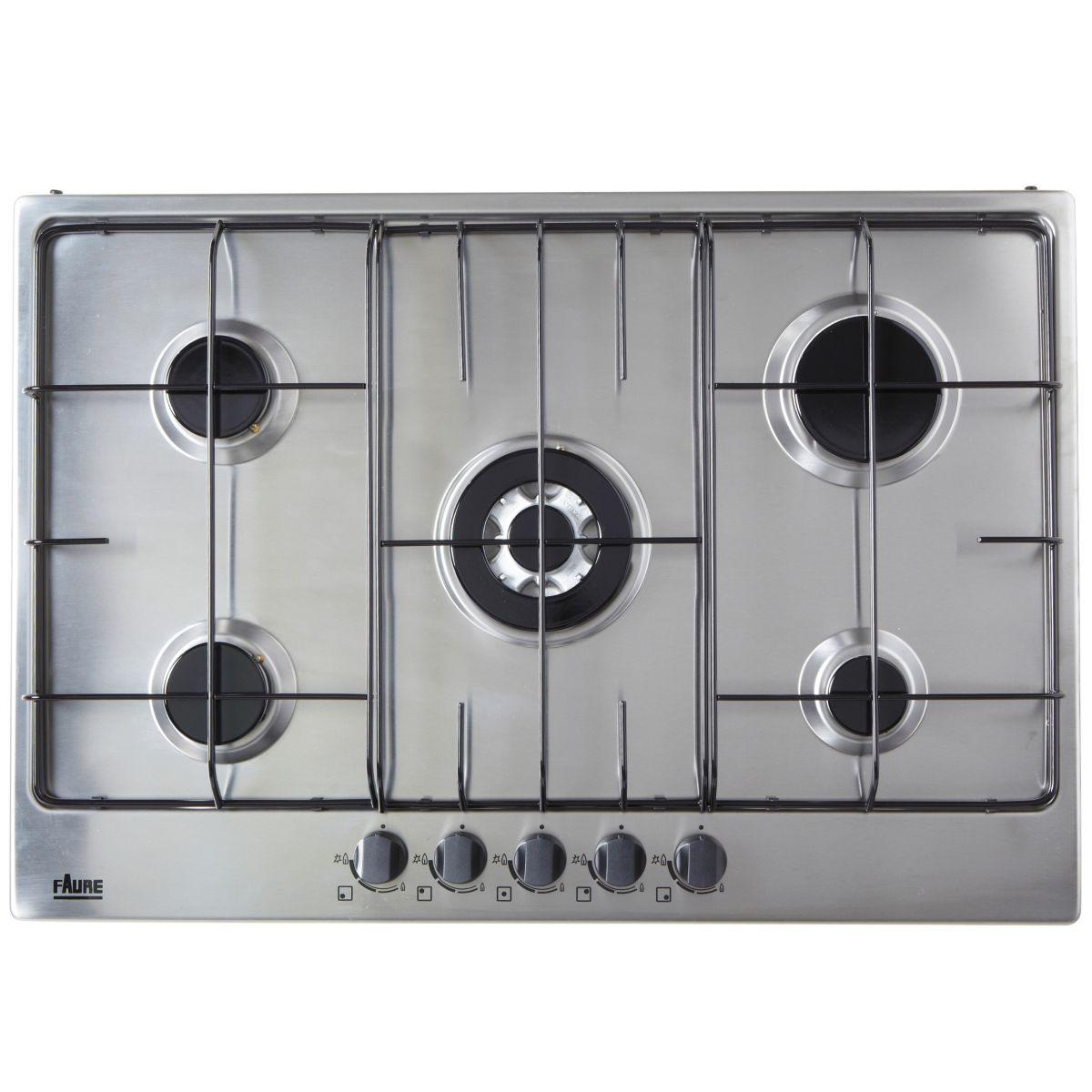 Table de cuisson gaz FAURE FGG75524XA
