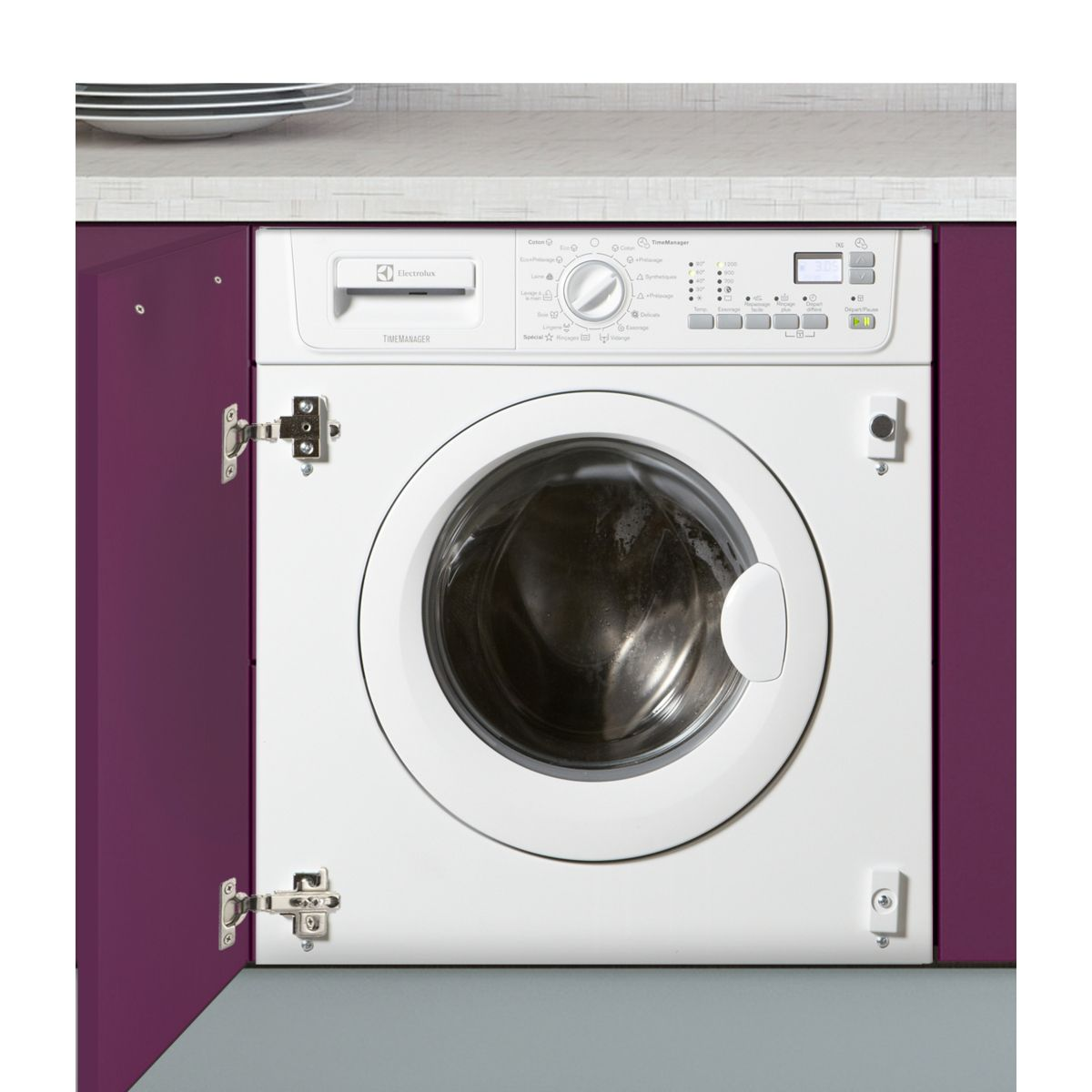 Lave-linge frontal intégrable ELECTROLUX EWG127410W