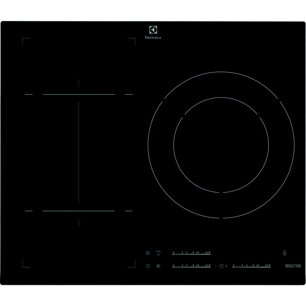 Table induction ELECTROLUX E6353FVK