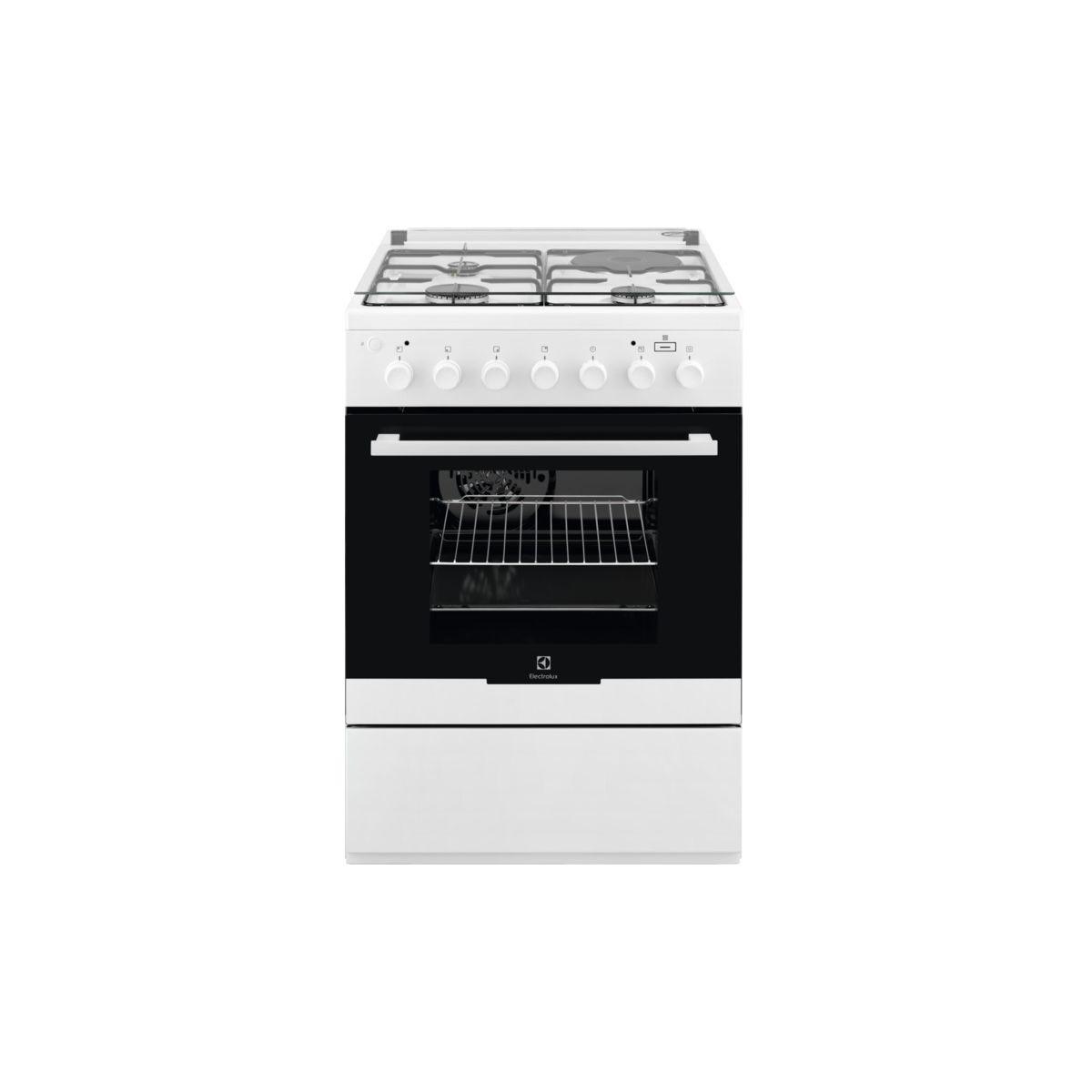 Cuisinière mixte ELECTROLUX EKM60900OW