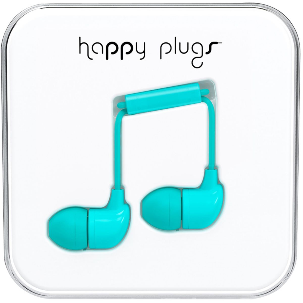 Ecouteurs avec micro HAPPY PLUGS In-ear turquoise