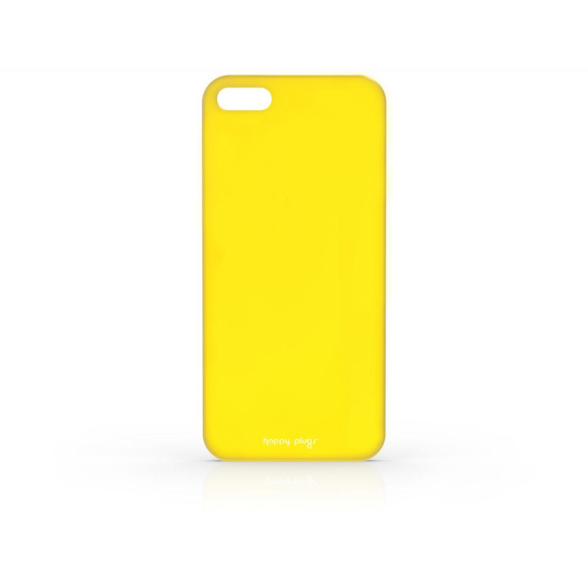 Coque HAPPY PLUGS iPhone 5/5S jaune