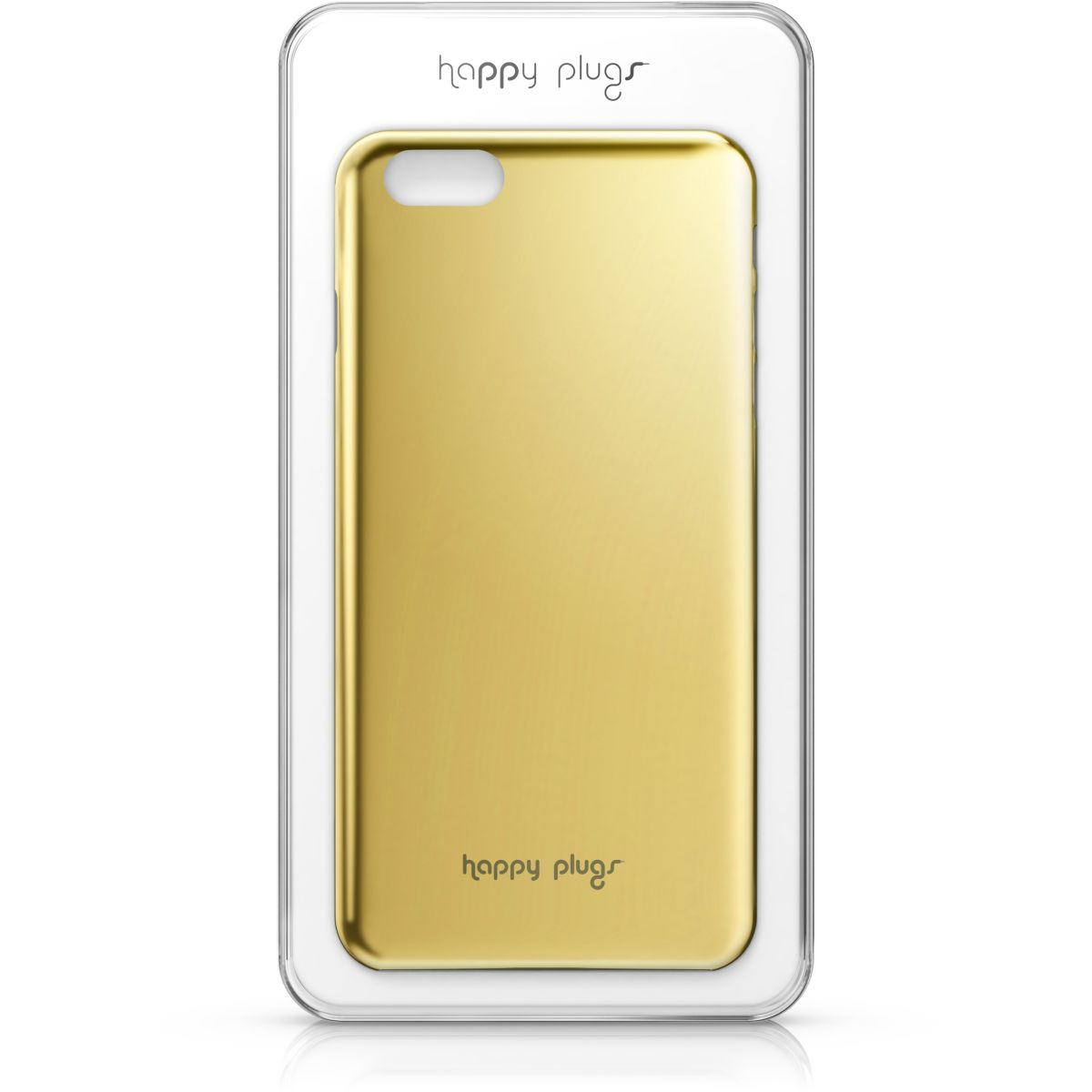 Coque HAPPY PLUGS Deluxe iPhone 6 Plus gold