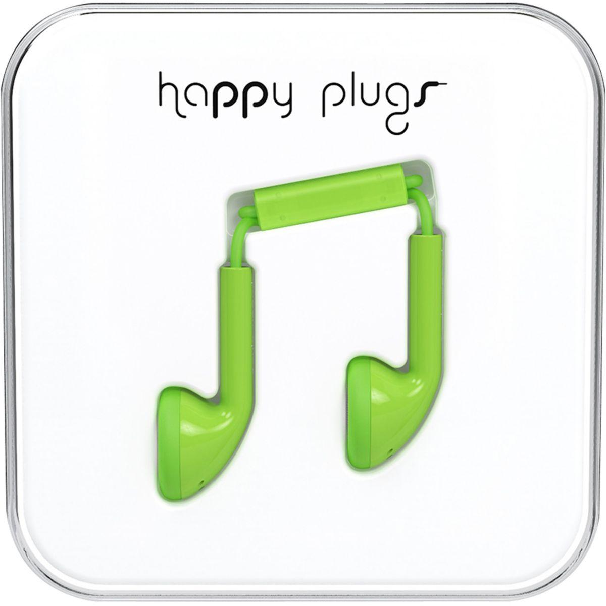 Ecouteurs avec micro HAPPY PLUGS Earbud Mint