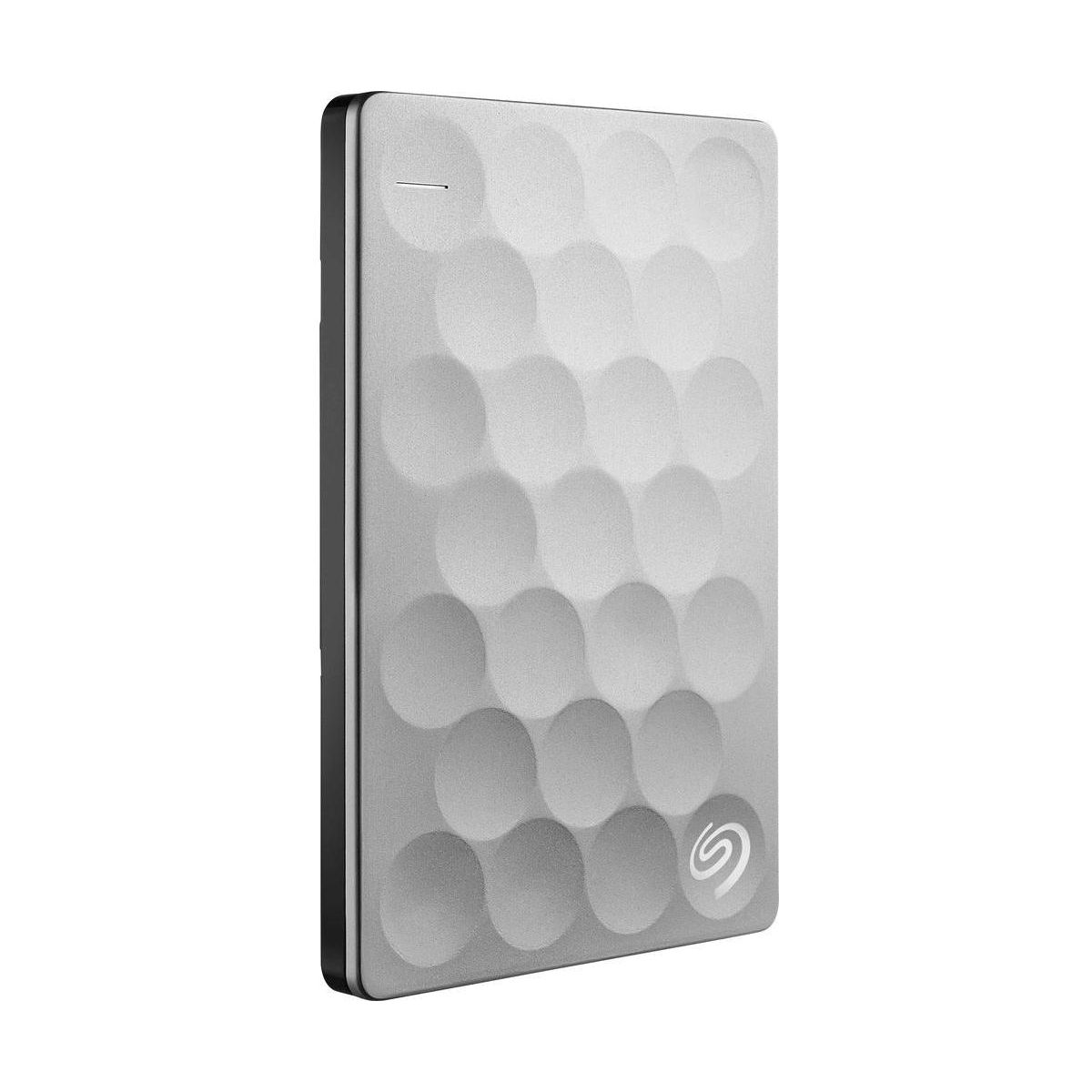 Disque dur externe de poche SEAGATE 2,5 1To Ultra Slim / Titanium / USB 3.0