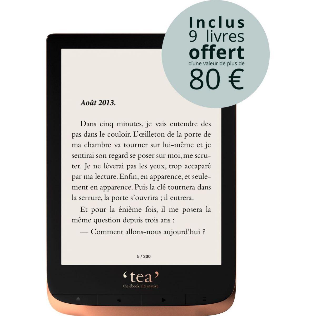 e-book TEA Touch HD + Pack d'ebooks OFFERT (photo)
