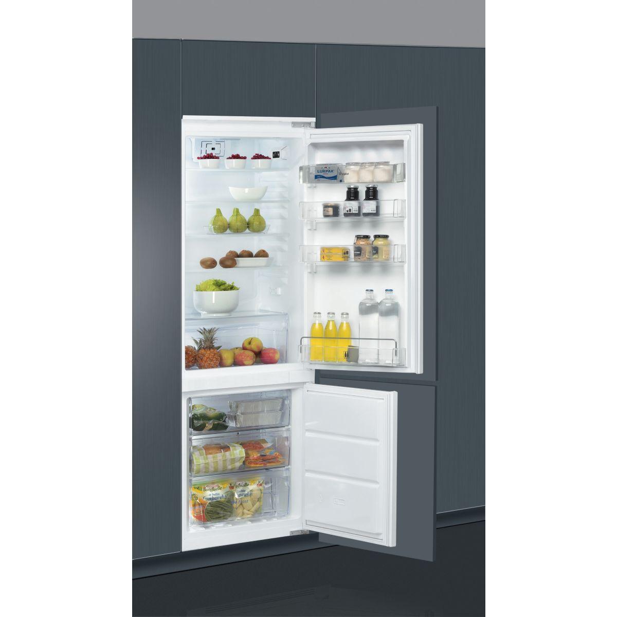 Réfrigérateur combiné encastrable WHIRLPOOL ART872/A+/NF