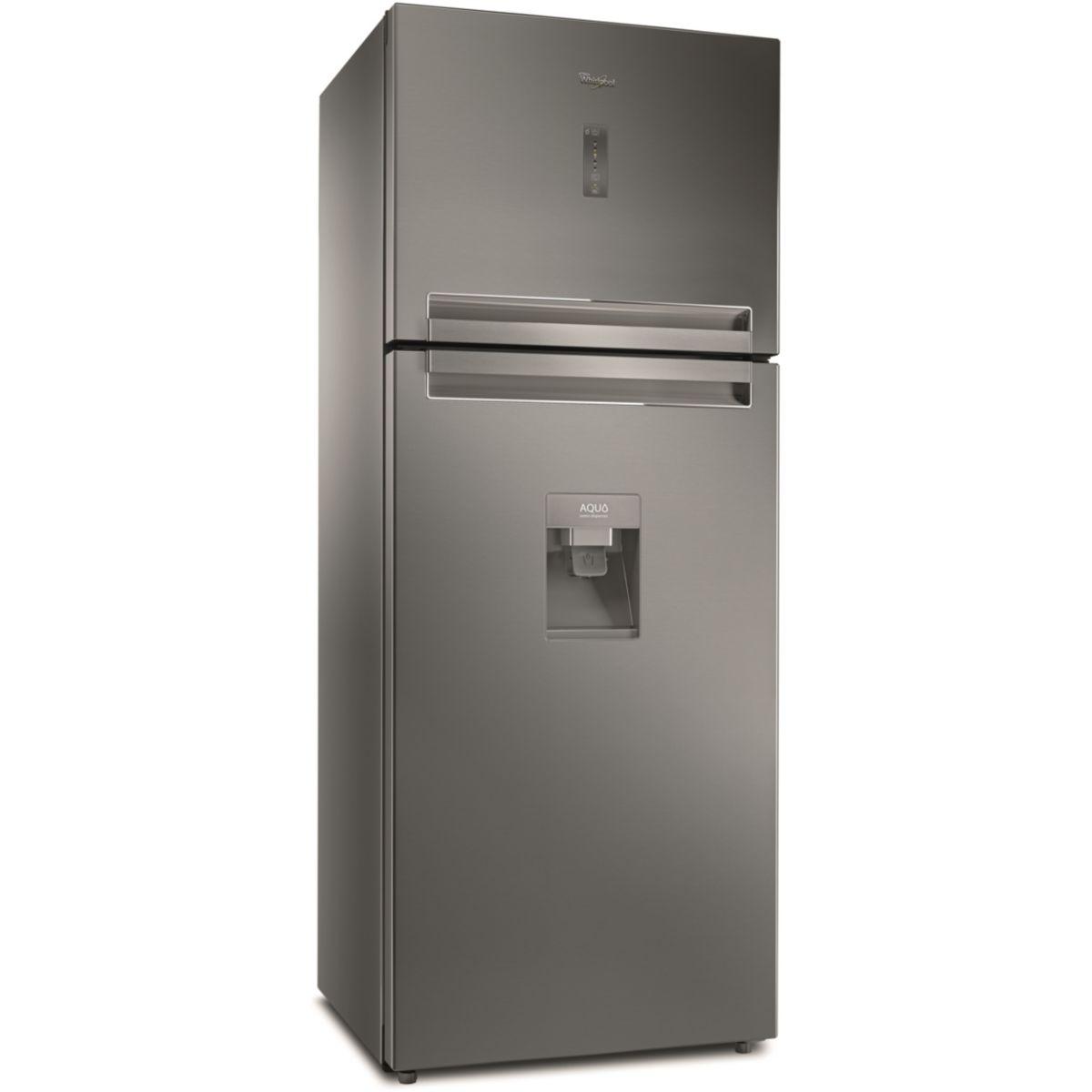 Réfrigérateur 2 portes WHIRLPOOL TTNF8211OXAQUA