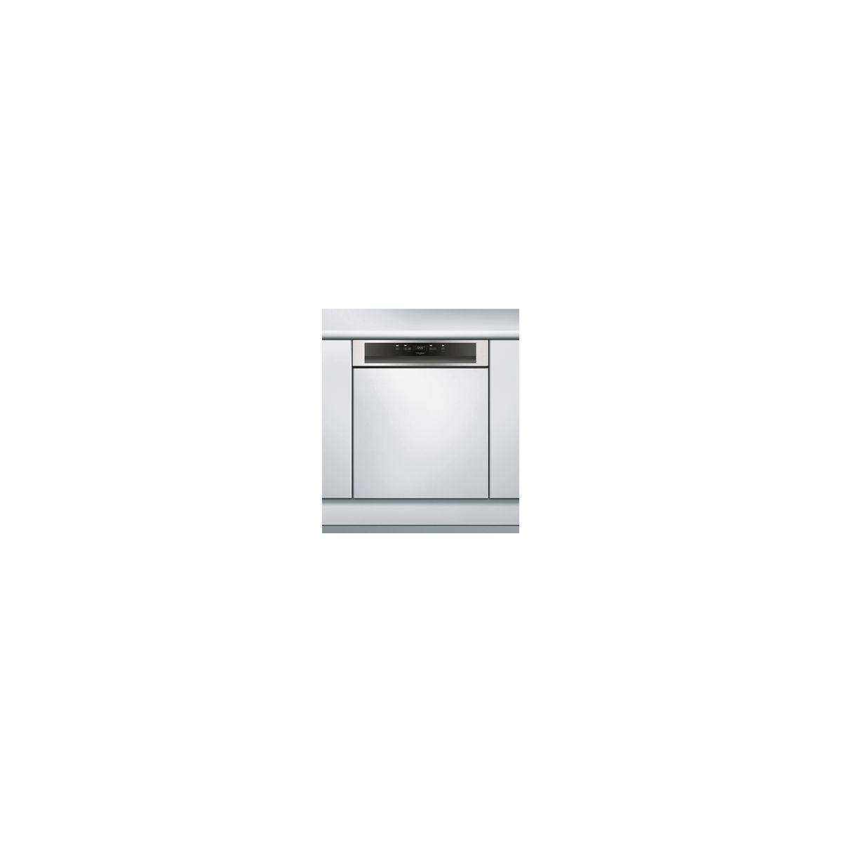 Lave vaisselle encastrable WHIRLPOOL WBO3T332PX