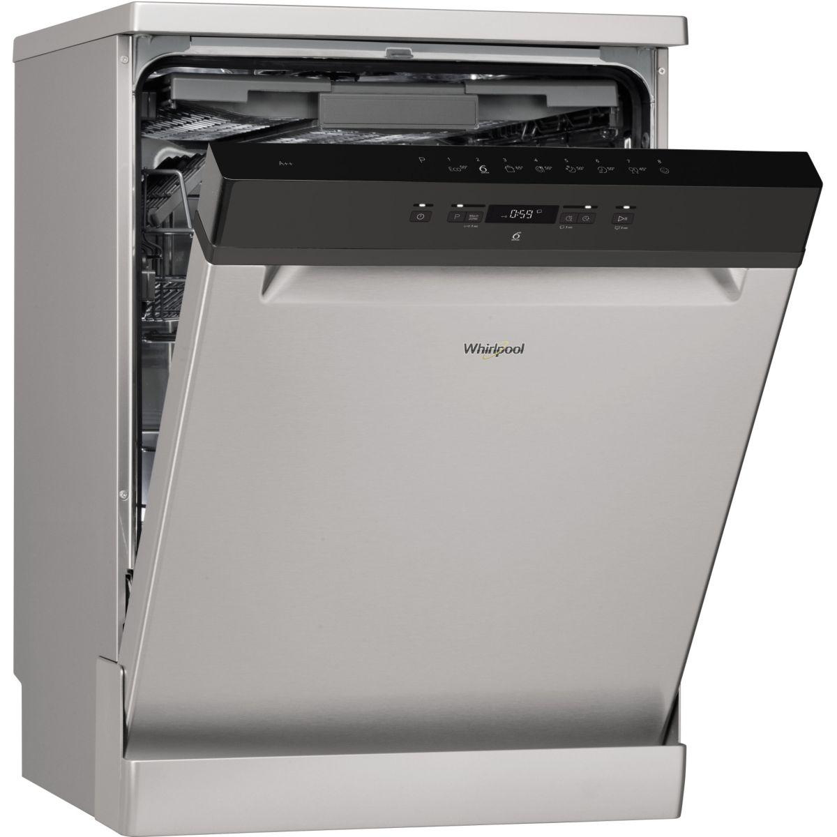 Lave vaisselle 60 cm WHIRLPOOL WFC3C26FX