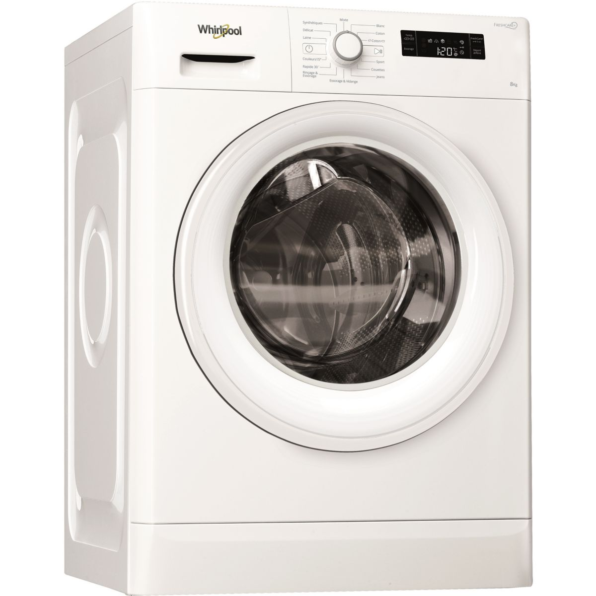 Lave-linge Frontal WHIRLPOOL FWF81283W2FR