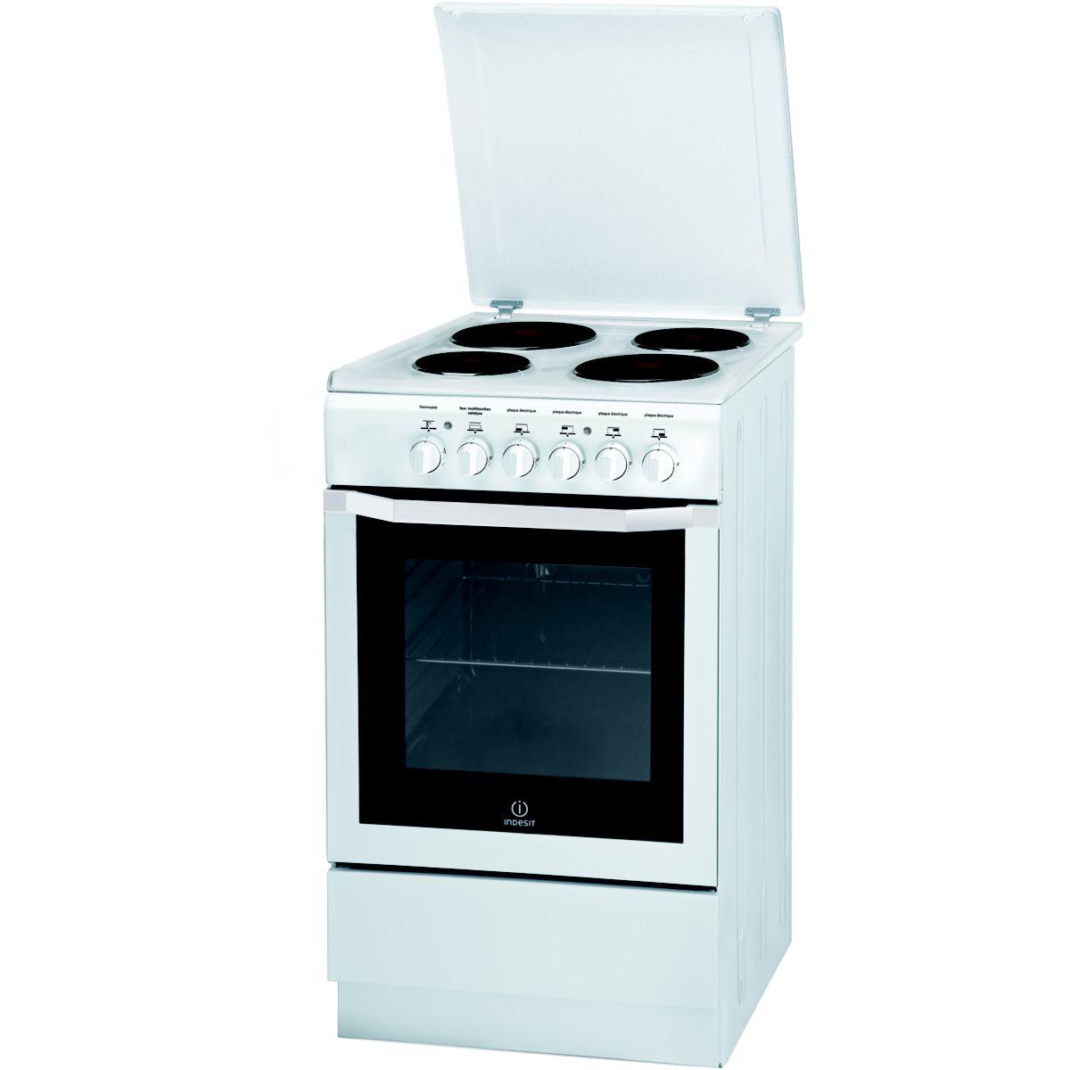Cuisinière électrique INDESIT I5E6CAE(W)/FR