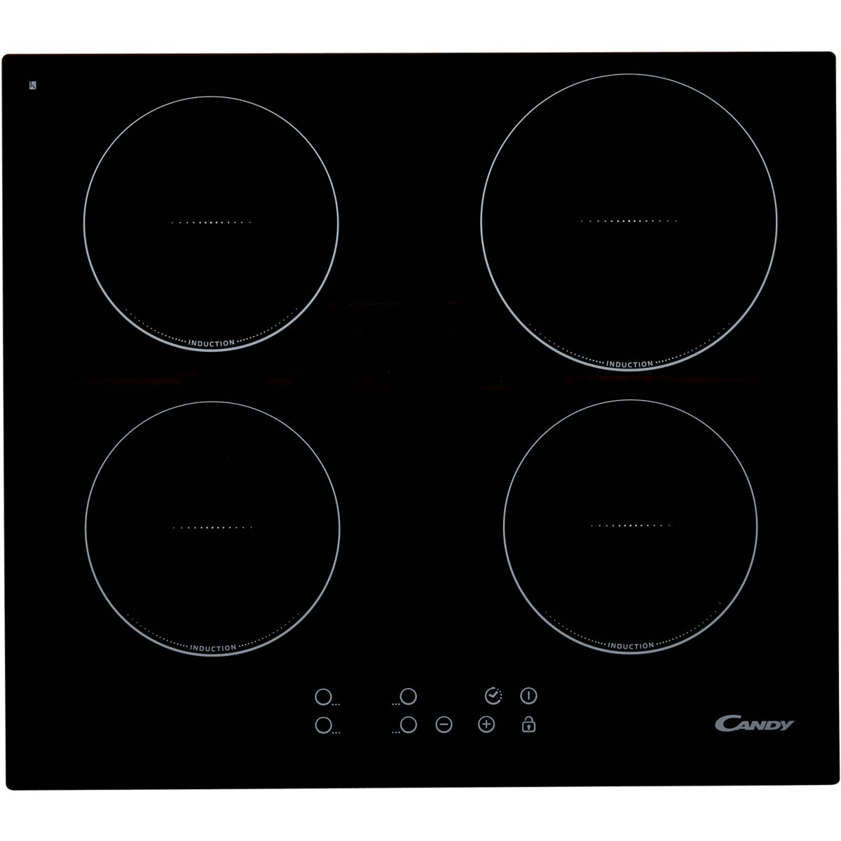 Table de cuisson induction CANDY CI640C