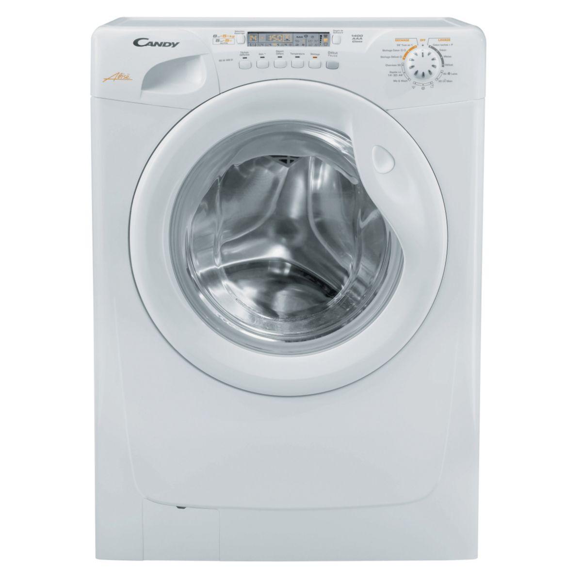 Lave-linge séchant CANDY GOW 338 D
