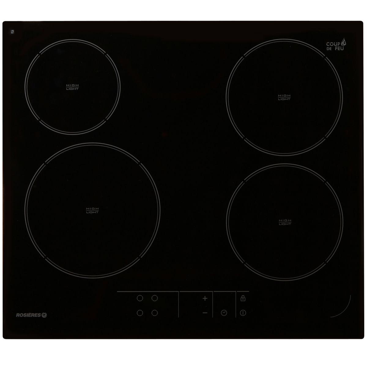 Table de cuisson vitrocéramique ROSIERES EX RVE64