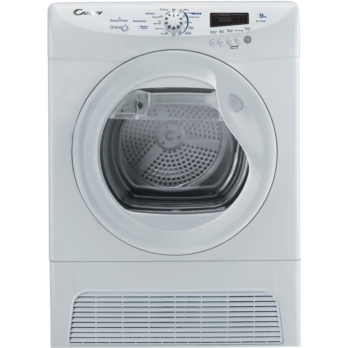 Sèche linge à condensation CANDY GCC 7913 NB